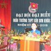 Đại hội Đại biểu Đoàn trường THPT Bỉm Sơn (Khóa 31, nhiệm kỳ 2014-2015)