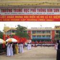 """""""Giải pháp xây dựng và gìn giữ truyền thống – nét đẹp của trường THPT Bỉm Sơn hướng tới kỉ niệm 35 năm thành lập trường"""" ."""