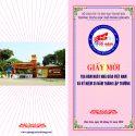 """Giấy mờ """"Tọa đàm Ngày nhà giáo Việt Nam và Kỷ niệm 35 năm ngày thành lập trường THPT Bỉm Sơn"""